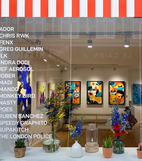 5 art galleries